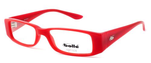 Bollé Louvres Designer Eyeglasses in Deep Red Crystal :: Progressive