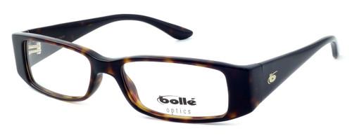 Bollé Louvres Designer Eyeglasses in Dark Demi Tortoise :: Rx Single Vision