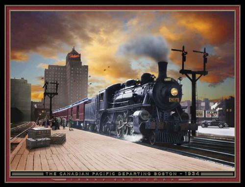 Train Themed 240-32-3 Artwork Micro Fiber Cleaning Cloth