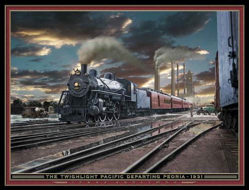 Train Themed 240-32-5 Artwork Micro Fiber Cleaning Cloth