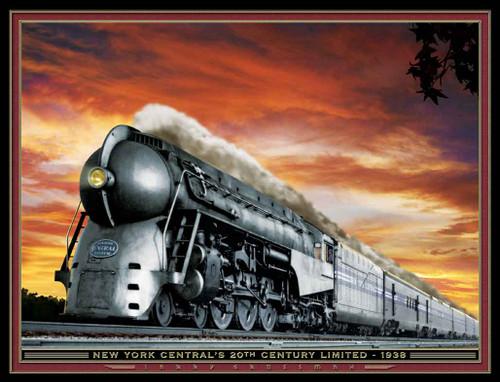 Train Themed 240-32-6 Artwork Micro Fiber Cleaning Cloth