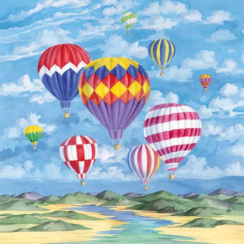 Balloon 240-10a-1 Artwork Micro Fiber Cleaning Cloth