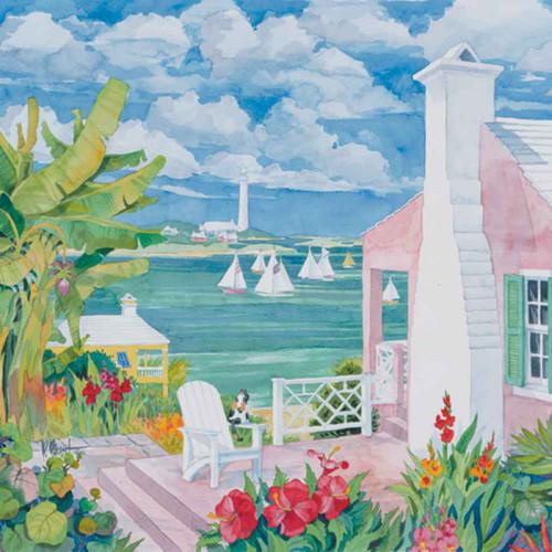 Bermuda Cove 240-10a-5 Artwork Micro Fiber Cleaning Cloth