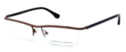 David Yurman Designer Eyeglasses DY043 in Brown (02) :: Rx Single Vision