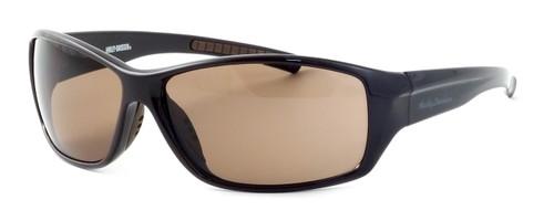 Harley-Davidson Designer Sunglasses HDV017 in Brown Frame & Amber Lens