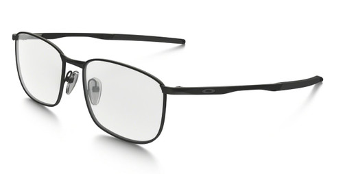 Oakley Optical Designer Eyeglasses Taproom in Matte Black OX3204-0255 :: Progressive