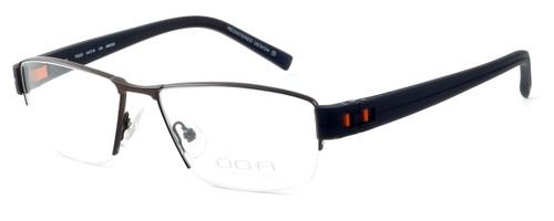 OGA Designer Eyeglasses 7922O-MM050 in Brown & Orange :: Custom Left & Right Lens