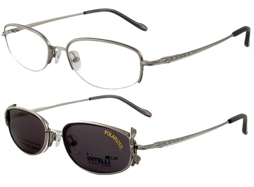 Magnetic Clip-On 747 Polarized Reading Sunglasses