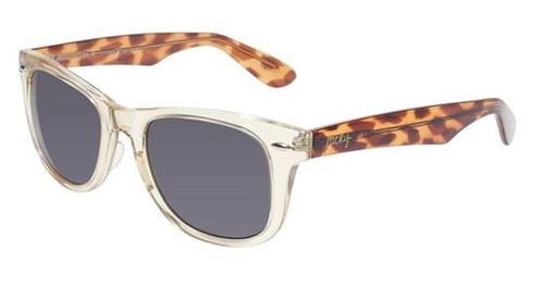 Lucky Brand Beach Bum Designer Sunglasses in Yellow-Crystal