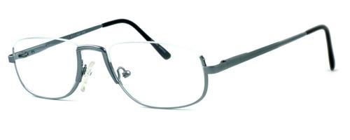 Regency International Designer Eyeglasses Haiflim in Silver 52mm :: Custom Left & Right Lens