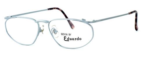 Regency International Designer Eyeglasses Venus in Matte Silver 54mm :: Rx Single Vision
