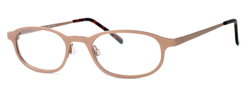 Regency International Designer Eyeglasses Mill 002 in Matte Brown 48mm :: Rx Single Vision