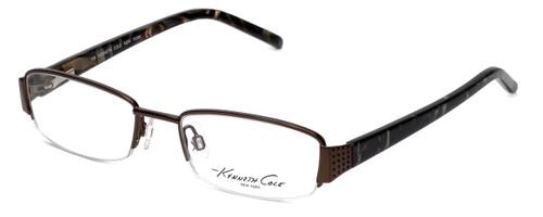 Kenneth Cole Designer Eyeglasses KC0164-048 in Brown :: Rx Single Vision