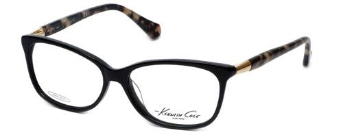 Kenneth Cole Designer Eyeglasses KC0212-001 in Black :: Rx Single Vision