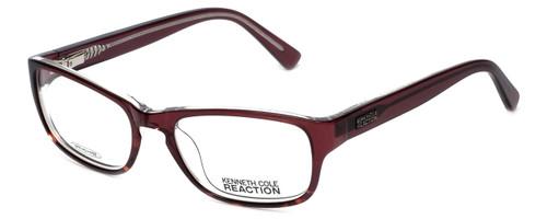 Kenneth Cole Reaction Designer Eyeglasses KC0743-050 in Transparent-Burgundy :: Progressive