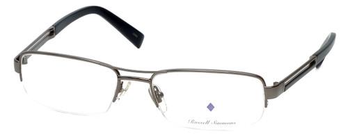 Argyleculture Designer Eyeglasses Brecker in Gunmetal :: Custom Left & Right Lens