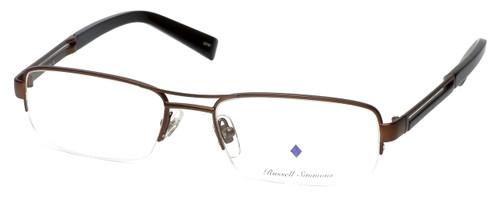 Argyleculture Designer Eyeglasses Brecker in Brown :: Custom Left & Right Lens