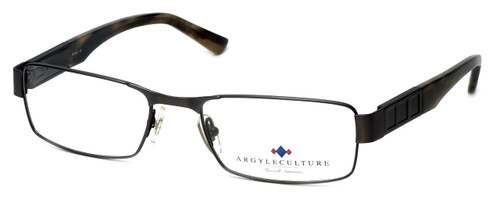 Argyleculture Designer Eyeglasses Dorsey in Gunmetal :: Custom Left & Right Lens