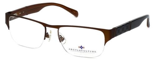 Argyleculture Designer Eyeglasses Elton in Brown :: Custom Left & Right Lens