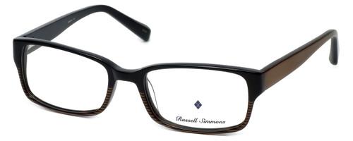 Argyleculture Designer Eyeglasses Hendrix in Black-Brown :: Custom Left & Right Lens