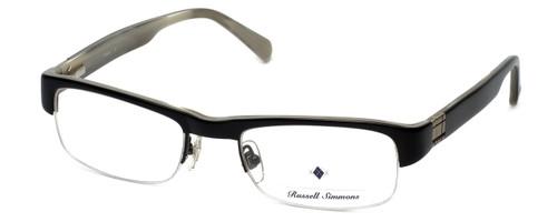 Argyleculture Designer Eyeglasses Hubbard in Black :: Custom Left & Right Lens