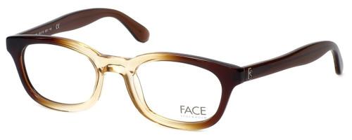 FACE Stockholm Busy 1316-9201 Designer Eyeglasses in Brown Beige :: Rx Single Vision