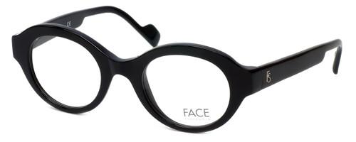 FACE Stockholm Dusk 1347-9501 Designer Eyeglasses in Black :: Rx Single Vision