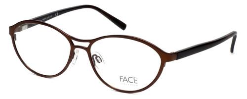 FACE Stockholm Smashing 1348-5203 Designer Eyeglasses in Brown :: Rx Single Vision