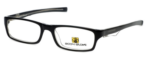 Body Glove Designer Eyeglasses BB125 in Black KIDS SIZE :: Rx Single Vision