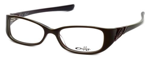 Oakley RX Scarf Designer Eyeglasses OX1035-0349 in Chestnut :: Custom Left & Right Lens