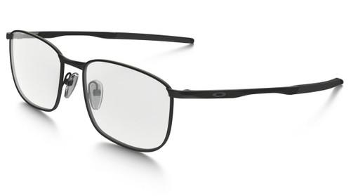 Oakley RX Taproom Designer Eyeglasses OX3204-0253 in Matte-Black :: Progressive