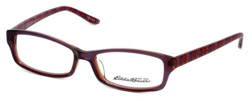 Eddie Bauer Designer Eyeglasses EB8245-Plum in Plum 54mm :: Custom Left & Right Lens