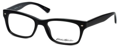 Eddie Bauer Designer Eyeglasses EB8291-Black in Black 53mm :: Custom Left & Right Lens