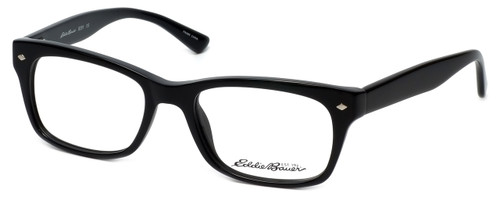 Eddie Bauer Designer Eyeglasses EB8291-Black in Black 53mm :: Progressive