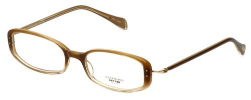 Oliver Peoples Designer Eyeglasses Chrisette TZGR in Topaz Gradient 49mm :: Custom Left & Right Lens