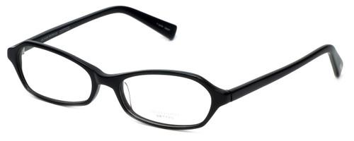 Oliver Peoples Designer Eyeglasses Fabi BK in Black 50mm :: Custom Left & Right Lens