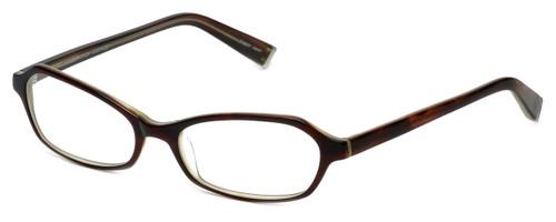Oliver Peoples Designer Eyeglasses Fabi H in Horn 50mm :: Custom Left & Right Lens