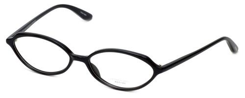 Oliver Peoples Designer Eyeglasses Larue BK in Black 52mm :: Custom Left & Right Lens