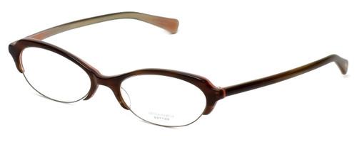 Oliver Peoples Designer Eyeglasses Lorelei OTPI in Brown Stripe 50mm :: Custom Left & Right Lens
