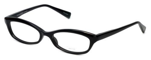 Oliver Peoples Designer Eyeglasses Marceau BK in Black 51mm :: Custom Left & Right Lens