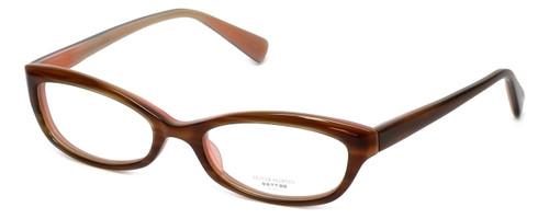 Oliver Peoples Designer Eyeglasses Marceau OTPI in Brown Stripe 51mm :: Custom Left & Right Lens