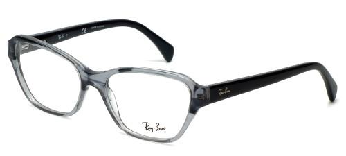 Ray-Ban Designer Eyeglasses RB5341-5571 in Black-Fade 55mm :: Custom Left & Right Lens