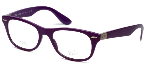 Ray-Ban Designer Eyeglasses RB7032-5437 in Purple 50mm :: Custom Left & Right Lens