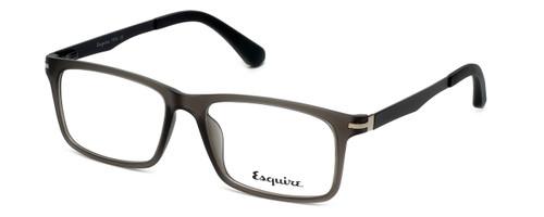 Esquire Designer Eyeglasses EQ1504 in Matte-Grey-Smoke 53mm :: Rx Single Vision