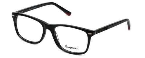 Esquire Designer Eyeglasses EQ1512 in Black 53mm :: Rx Single Vision