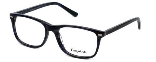 Esquire Designer Eyeglasses EQ1512 in Navy-Marble 53mm :: Rx Single Vision
