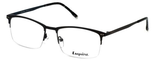 Esquire Designer Eyeglasses EQ1519 in Matte-Grey-Blue 54mm :: Rx Single Vision