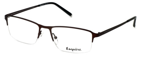 Esquire Designer Eyeglasses EQ1520 in Satin-Brown 54mm :: Rx Single Vision
