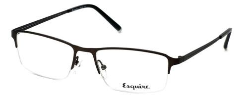 Esquire Designer Eyeglasses EQ1520 in Satin-Gunmetal 54mm :: Rx Single Vision