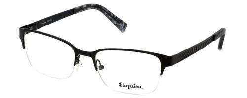 Esquire Designer Eyeglasses EQ1521 in Satin-Black 53mm :: Rx Single Vision
